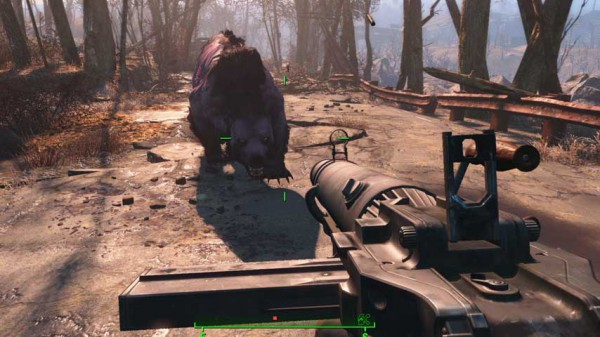 Fallout 4 to support Vita Remote Play the same way Destiny