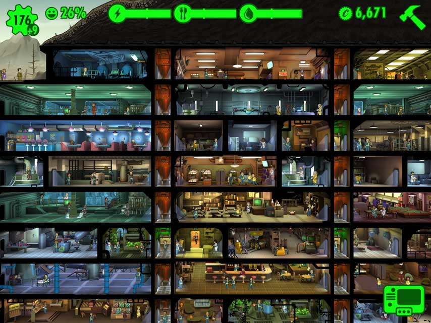 E3 2018: fallout shelter switch and ps4 versions announced.