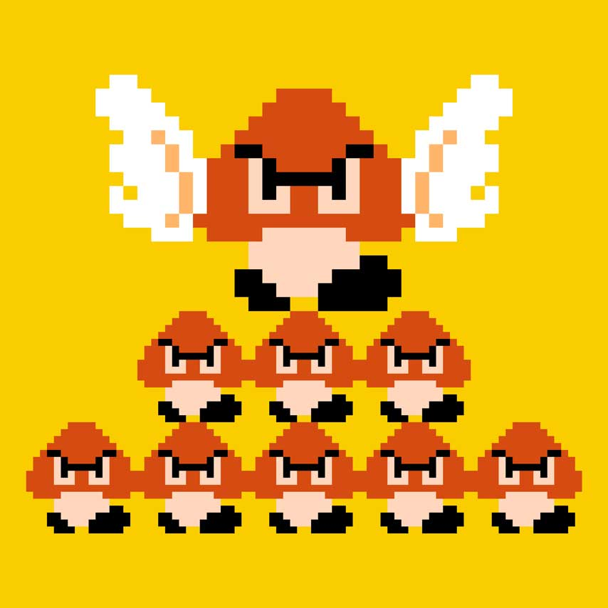 See Some Of The Original Graph Paper Super Mario Bros Designs Vg247