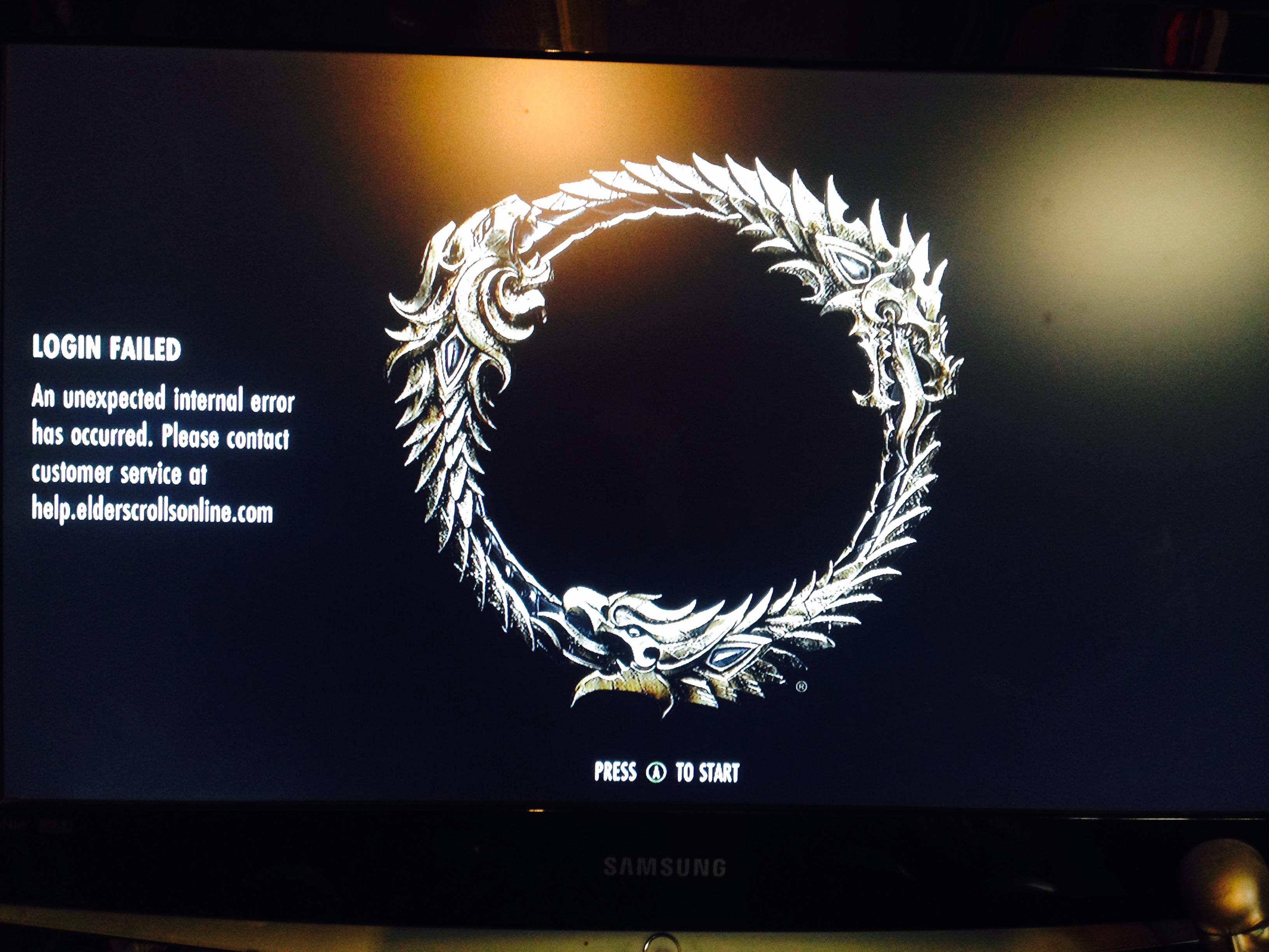 The Elder Scrolls Online is not having the best launch on
