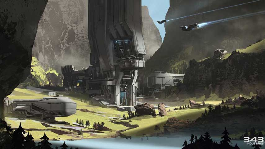halo 5 s new warzone map is the biggest to date vg247