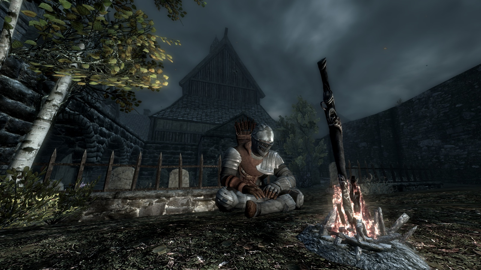 Watch how these mods make Skyrim look like Dark Souls - VG247