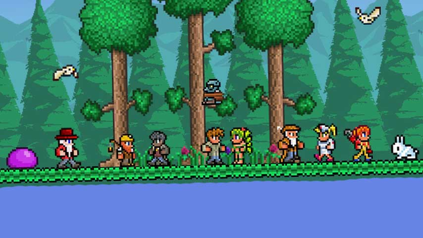 Terraria coming to 3DS and Wii U in early 2016 - VG247