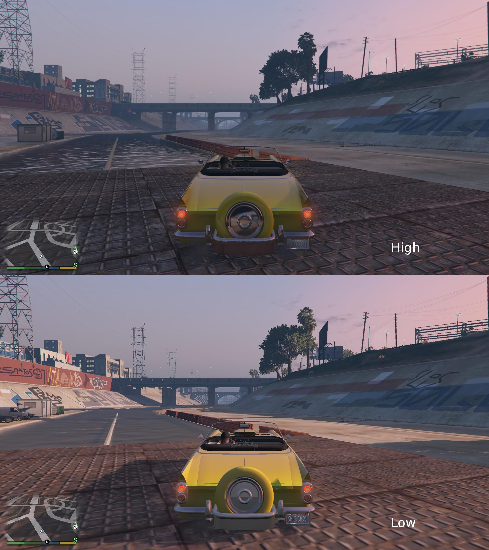 gta 5 pc high and low settings comparison may result in feelings of