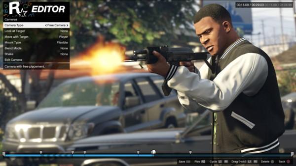 Rockstar Editor consoles