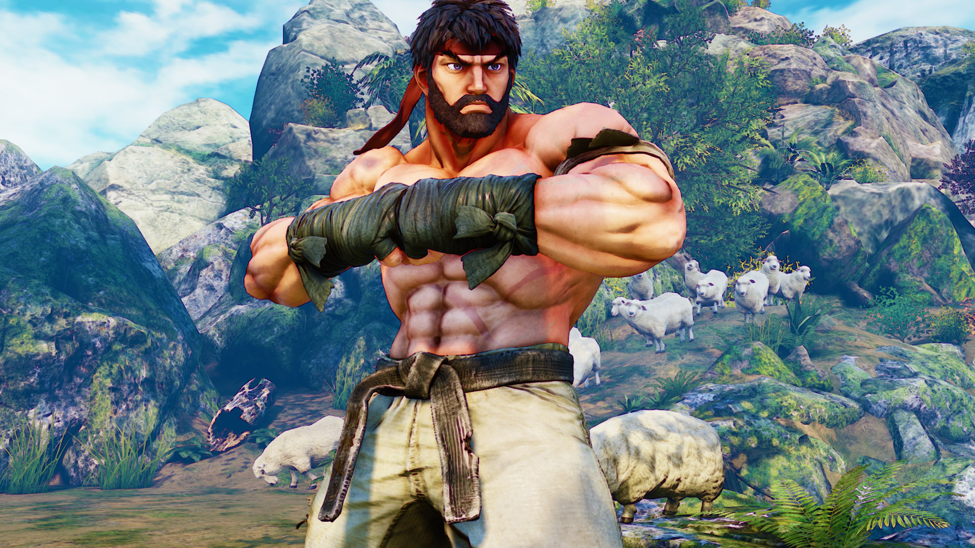 Street Fighter 5 Battle Costume Ryu