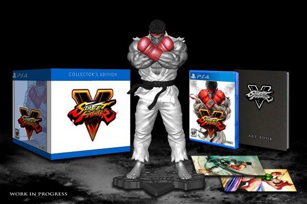 Street Fighter 5 collectors edition
