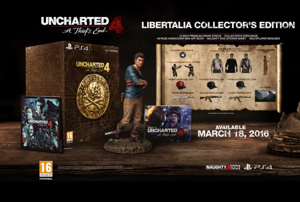 Uncharted 4 collectors edition 1