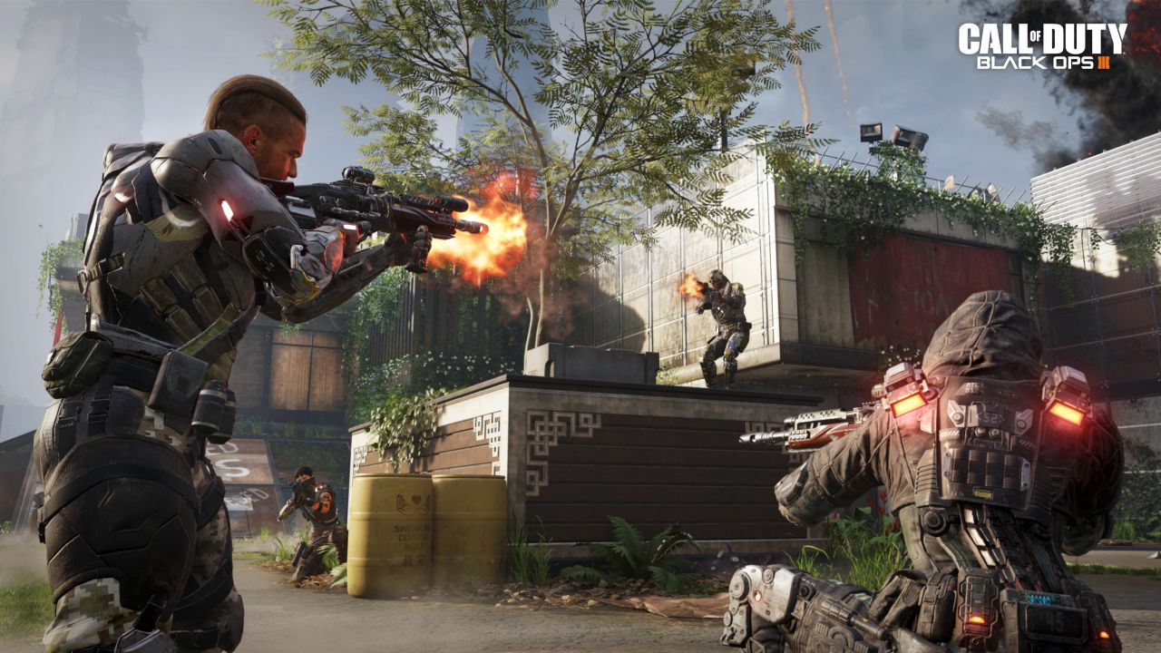 Call Of Duty Black Ops 3 Beta Now Live On Ps4 Slightly Ahead Of