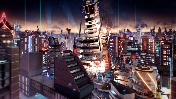 Crackdown 3 Destructibility