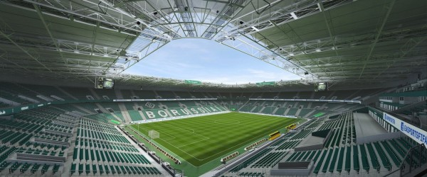 BORUSSIA-PARK (Borussia Mönchengladbach, Bundesliga)