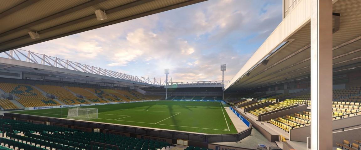 Carrow Road (Norwich City, Barclays Premier League)