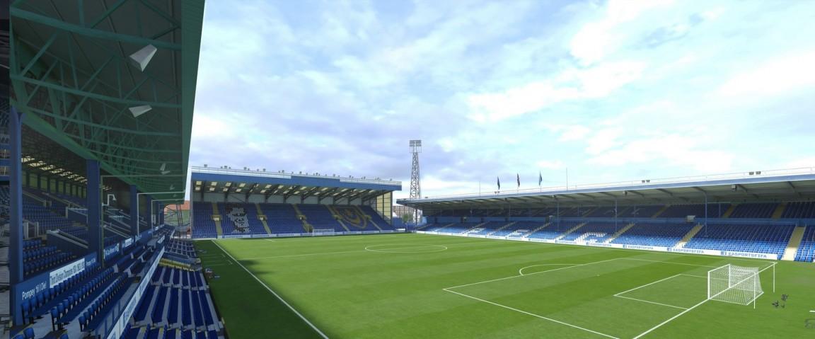 Fratton Park (Portsmouth FC, England League Two)