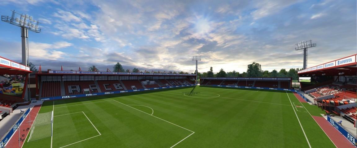 Vitality Stadium (Bournemouth, Barclays Premier League)