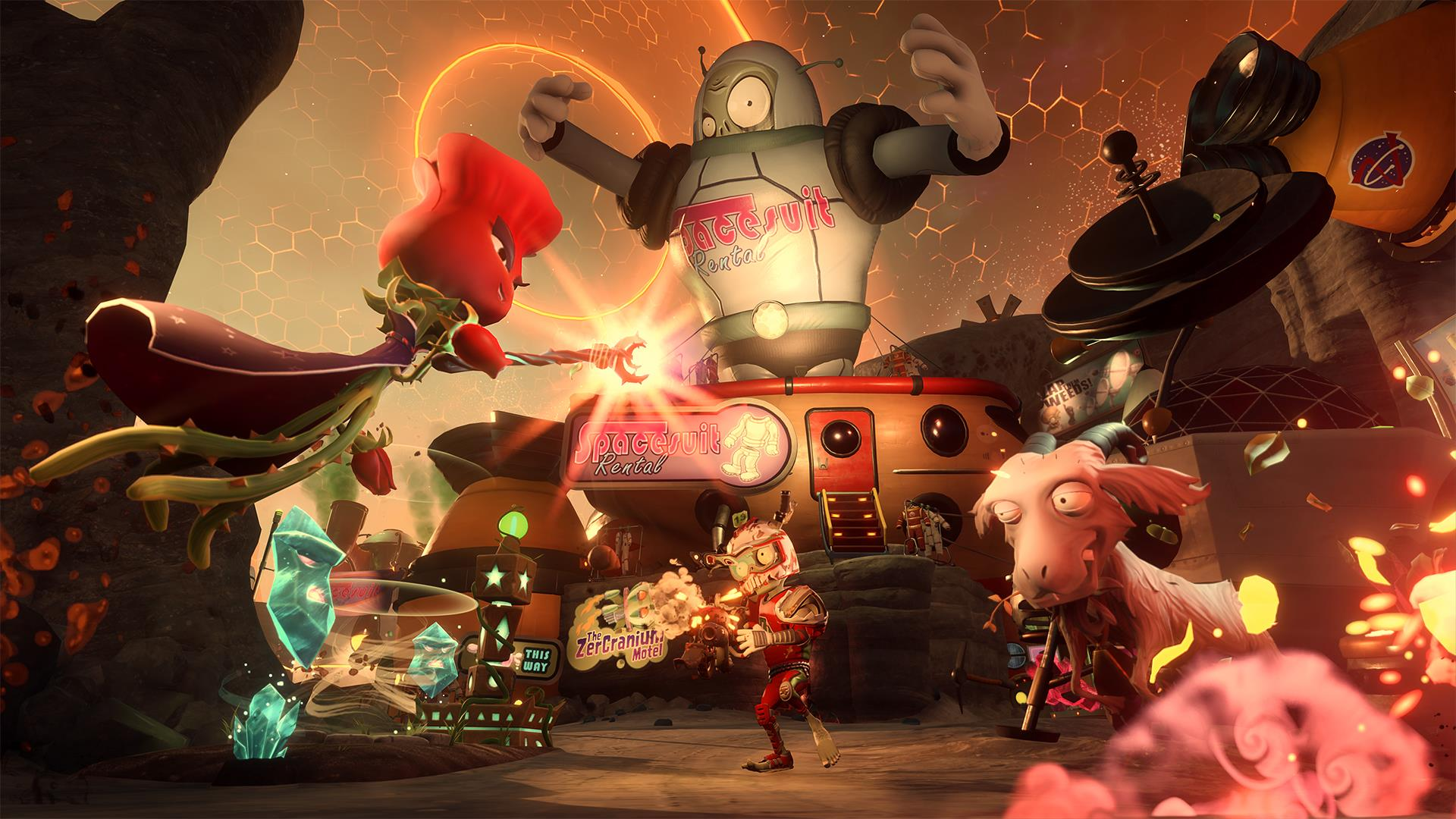 Plants vs Zombies: Garden Warfare 2 beta available now - VG247
