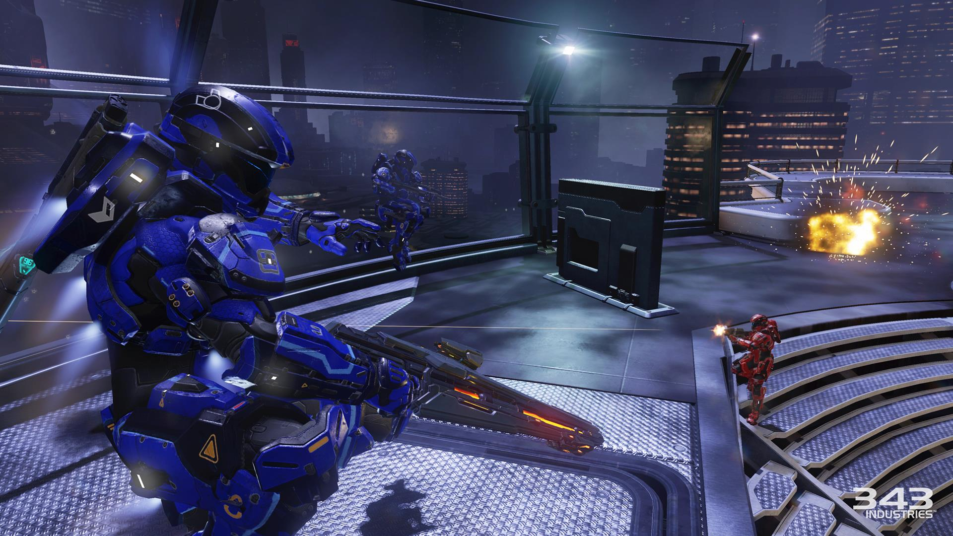 Halo 5: Guardians - watch new campaign and Arena multiplayer
