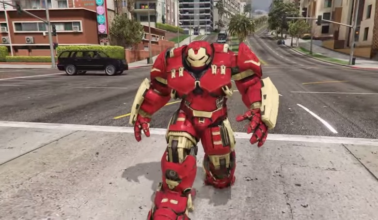 GTA 5: Iron Man's Hulkbuster armour mod is unstoppable - VG247