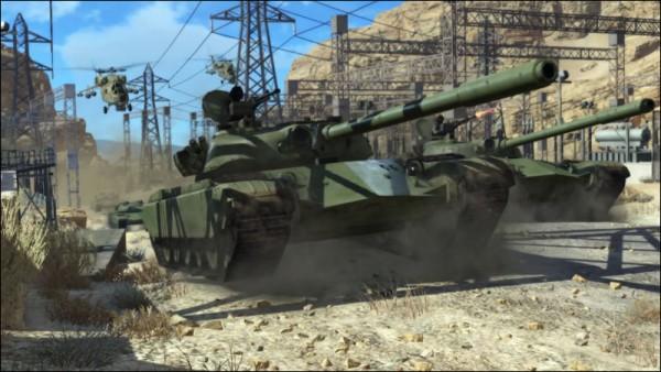 MGS 5 tanks