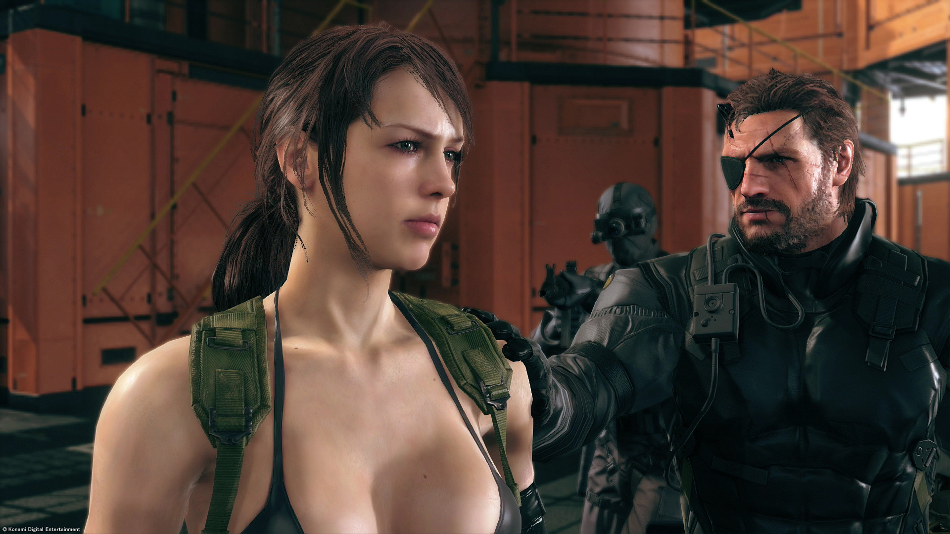 MGS5 quiet exit