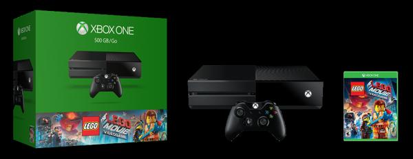 XboxOne_500GBConsole_LEGOTheMovieVideogame_hero image