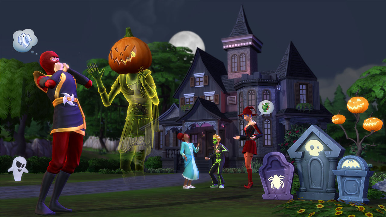 Haunted house - Page 2 — The Sims Forums