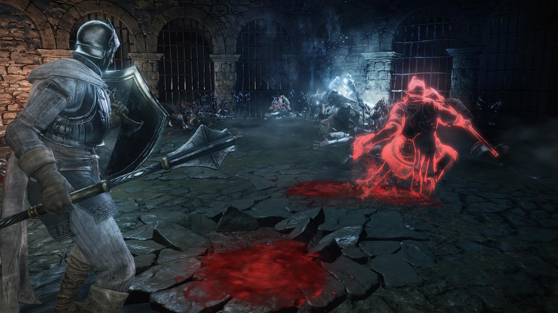 New Dark Souls 3 screens show co-op, spells, miracles, invasions