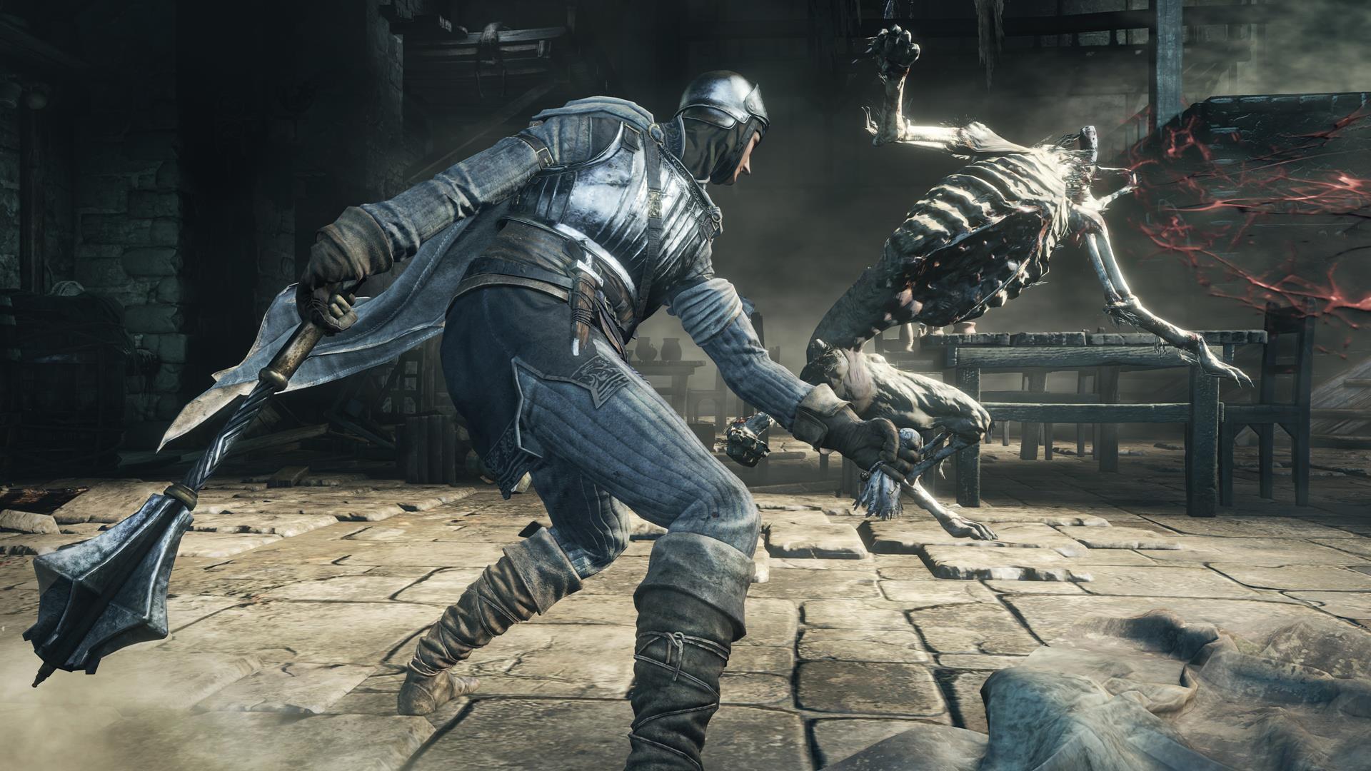 New Dark Souls 3 screens show co-op, spells, miracles
