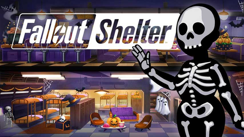 Fallout Shelter Halloween Update 2020 Fallout Shelter Halloween update adds ghost outfits and more   VG247