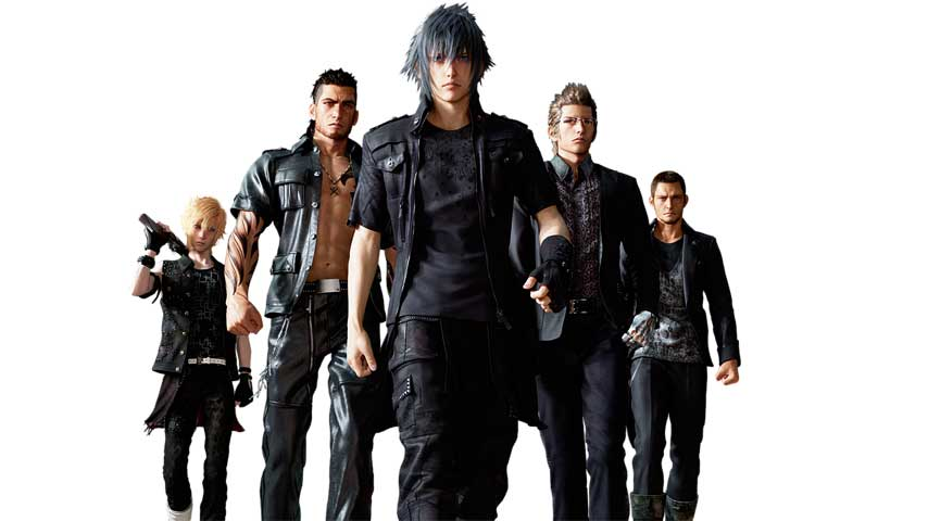 Final Fantasy 15 Characters Dress In Black Because Of Reasons Vg247