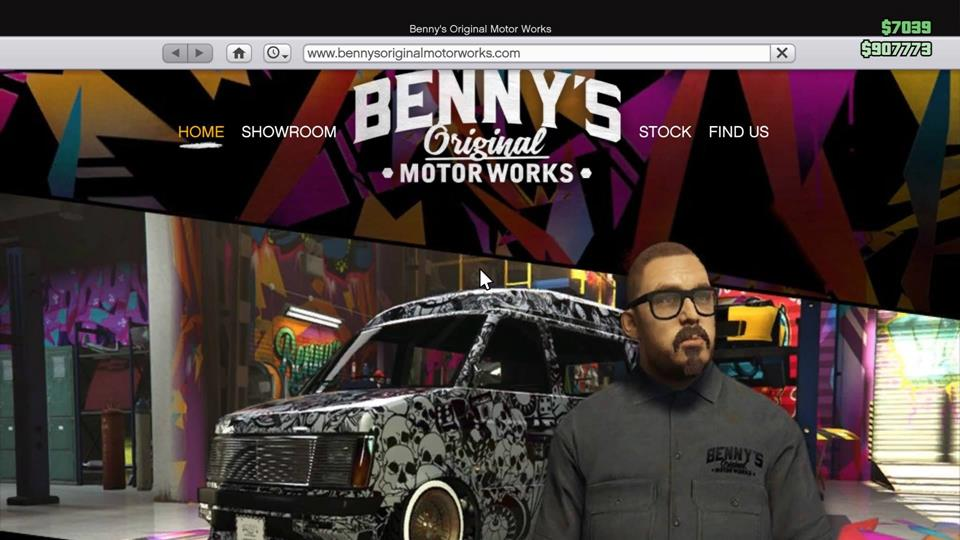 Gta lowriders bennys website