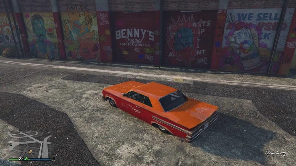 gta_lowriders_outside_bennys