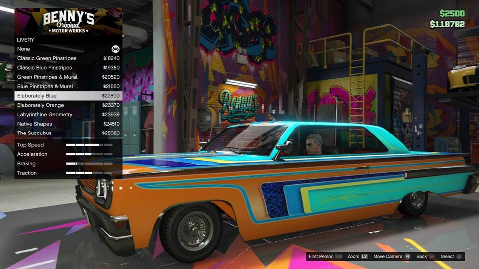 Gta Online How To Customise Your New Lowrider Vg247