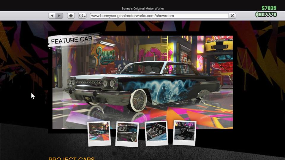 Gta lowriders sweetride