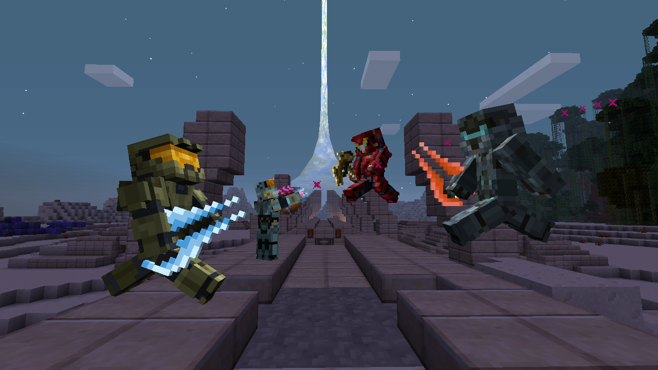 Halo S Master Chief And Locke Get Minecraft Skins VG - Skin para minecraft android y pc