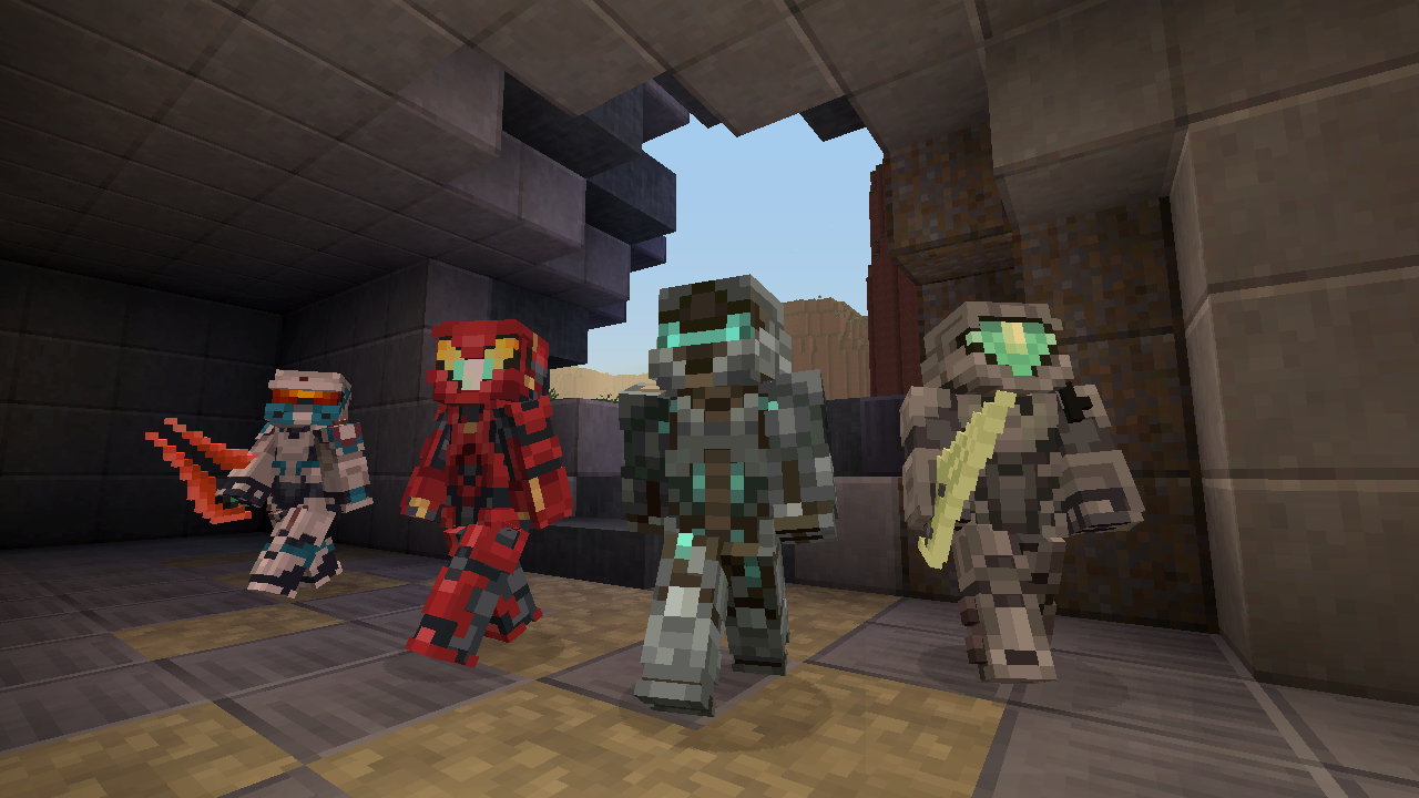 Halo Coming To The Nintendo Switch Version of Minecraft