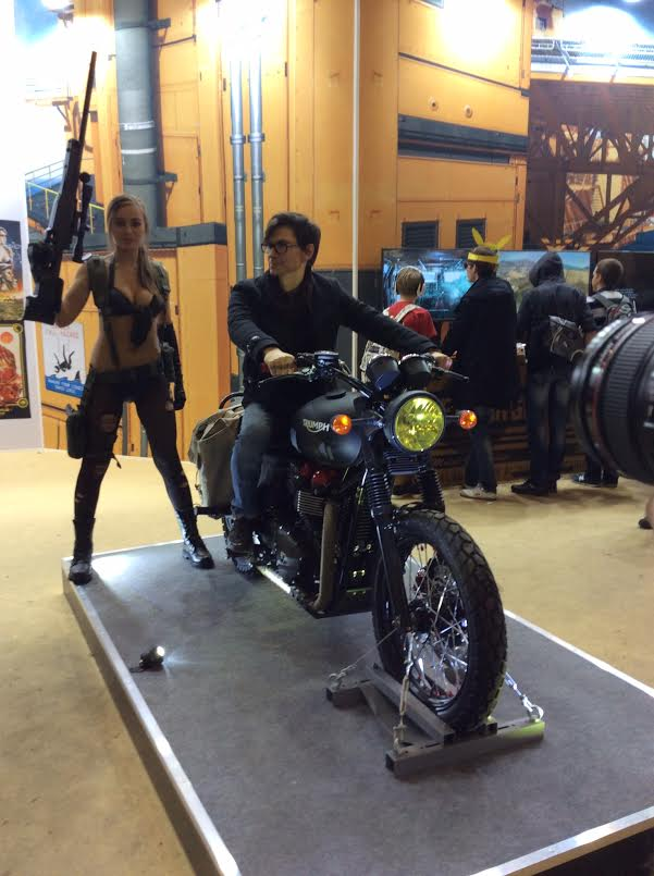 Snake S Metal Gear Solid Triumph Motorcycle Is Up For Sale