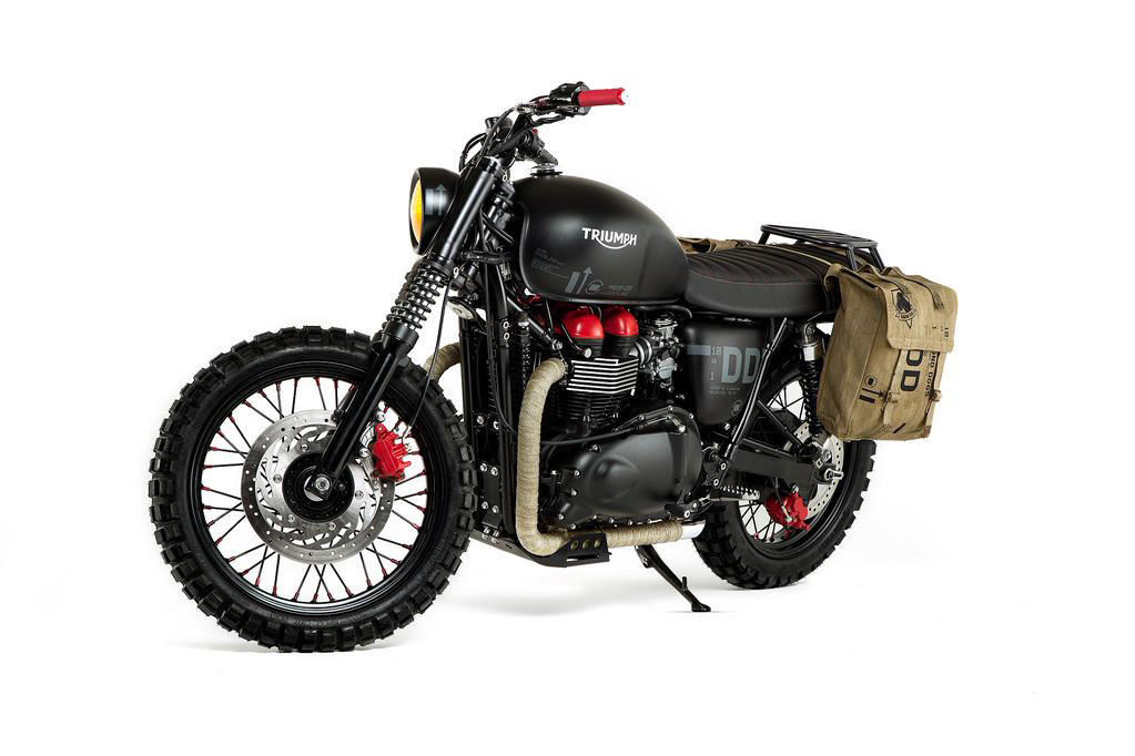 Snakes Metal Gear Solid Triumph Motorcycle Is Up For Sale On Ebay