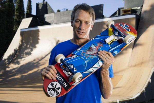 Tony Hawk professional skater