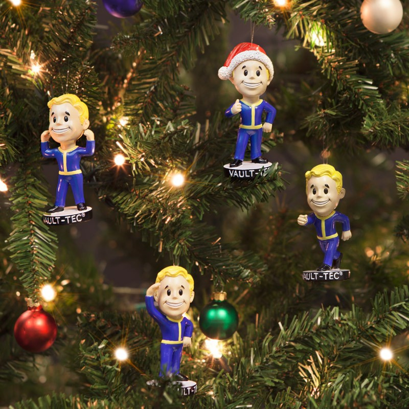 have a fallout xmas with these vault boy tree decorations - Fall Out Boy Christmas