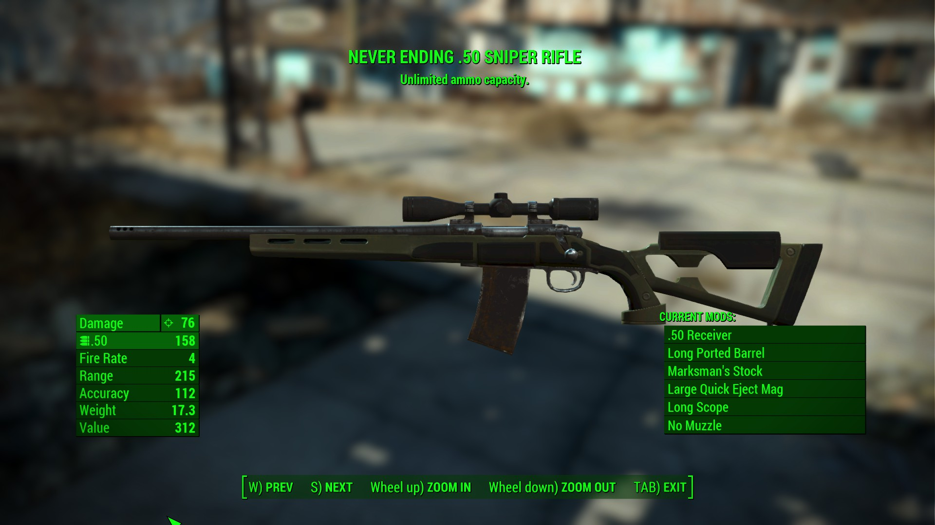 Fallout 4: what exactly do all those Legendary Weapon