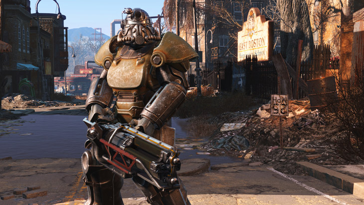 Fallout 4\'s frame-rate \