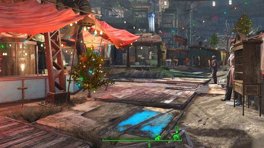 Fallout 4: Diamond City residents celebrates certain holidays | VG247
