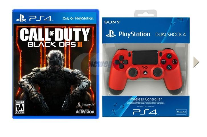 Get Call Of Duty Black Ops 3 Fallout 4 And A Dualshock 4 For