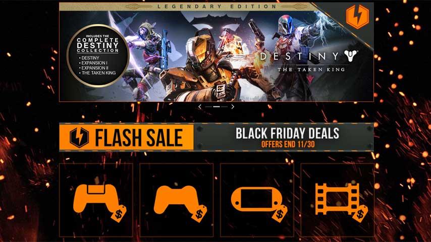 e8c17c057e9 PlayStation Store Black Friday Sale offers flash deals through ...