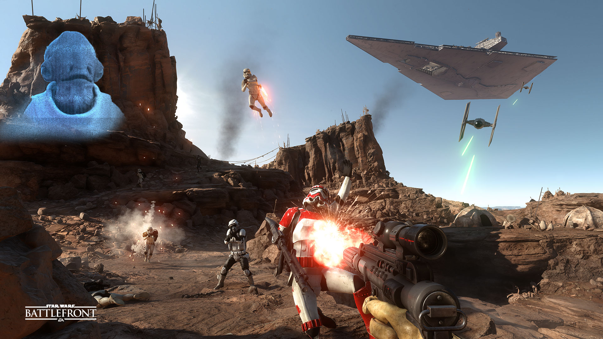 Star Wars Battlefront patch adds new maps, somewhat balances A-Wing