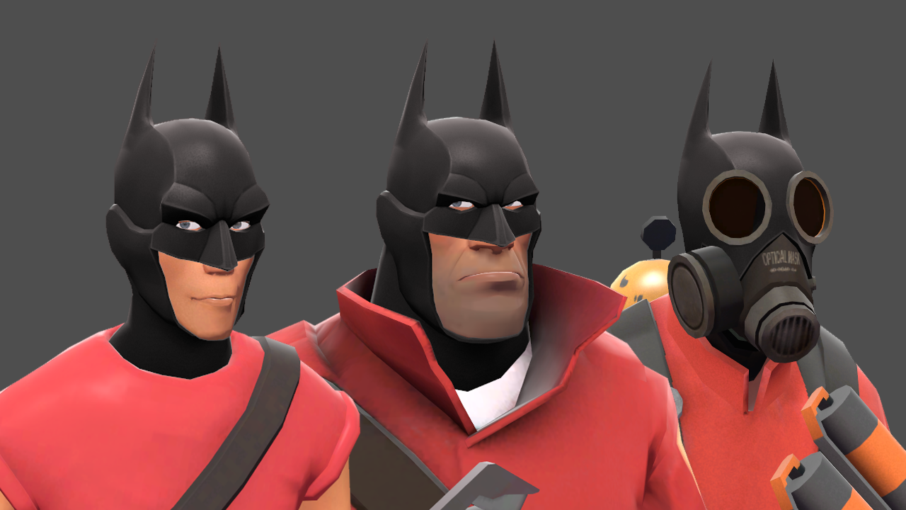 See The New Arkham Knight Items In Team Fortress 2