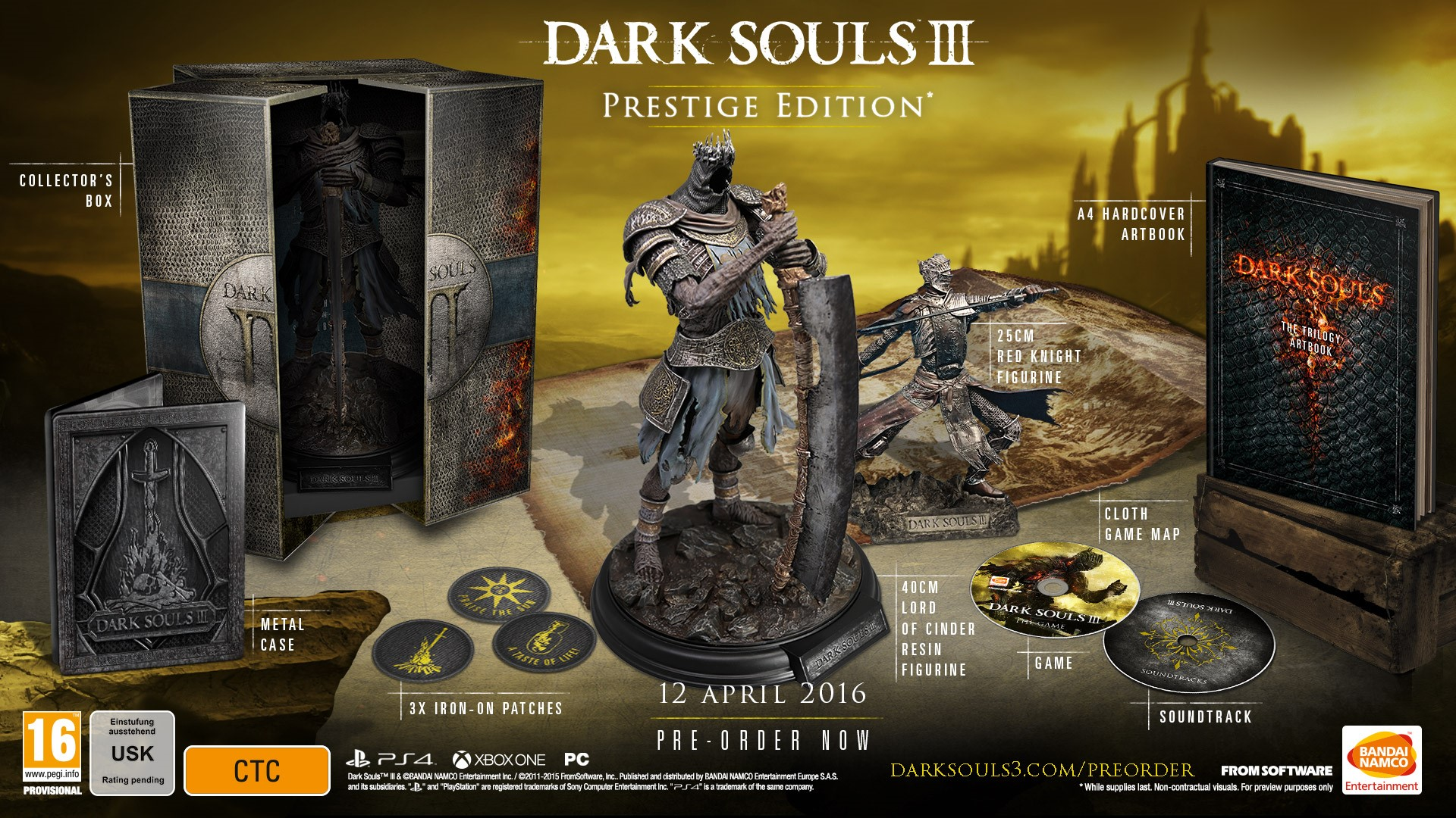 Dark souls iii early unboxing (day one edition) youtube.