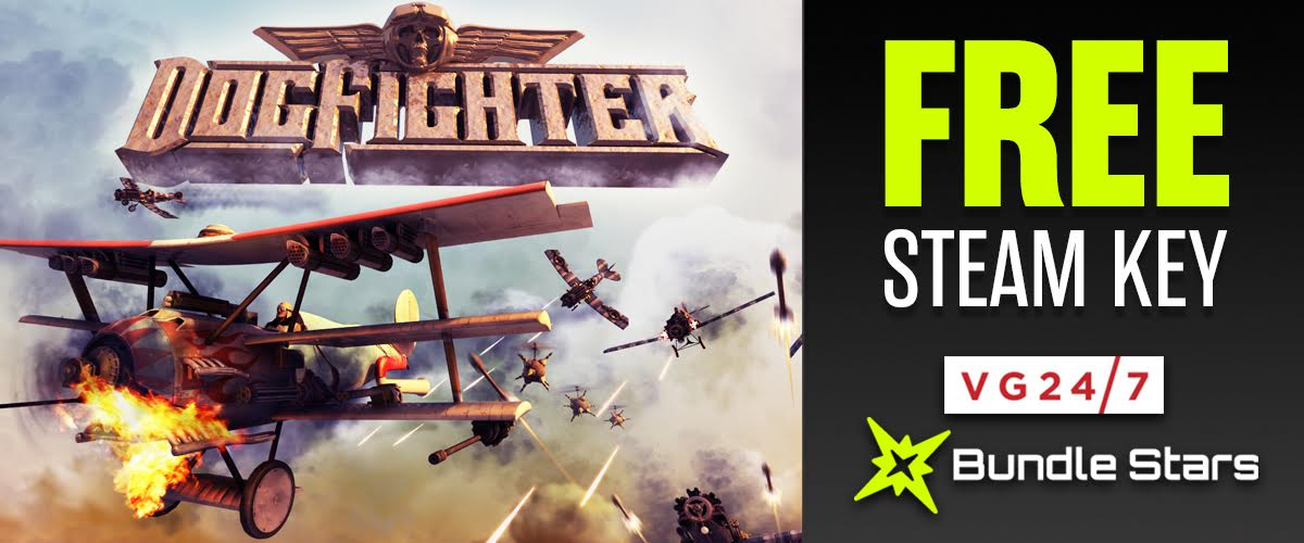 FREE! 200,000 Steam keys for PC game DogFighter - VG247