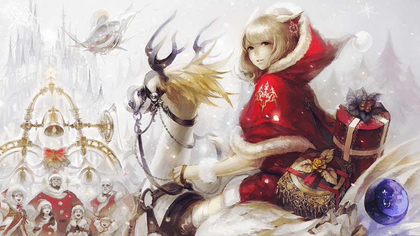 Final Fantasy Christmas.Final Fantasy 14 Welcomes Holiday Season With Starlight
