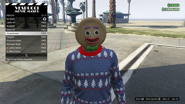 Gta 5 Online All Christmas Masks.Gta Online Festive Update Due This Month Complete With